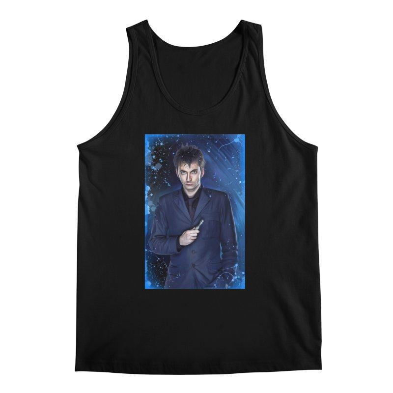 Dr Who 10th (David Tenant) Men's Regular Tank by EvoComicsInc's Artist Shop