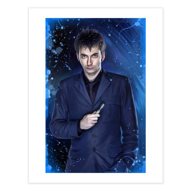Dr Who 10th (David Tenant) Home Fine Art Print by EvoComicsInc's Artist Shop