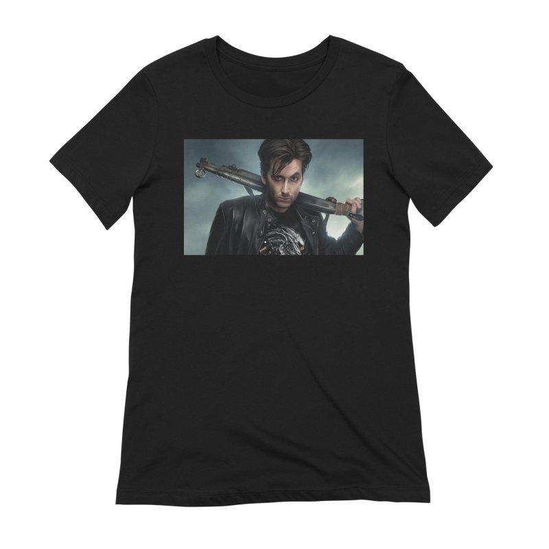 Fright Night (David Tenant) Women's Extra Soft T-Shirt by EvoComicsInc's Artist Shop