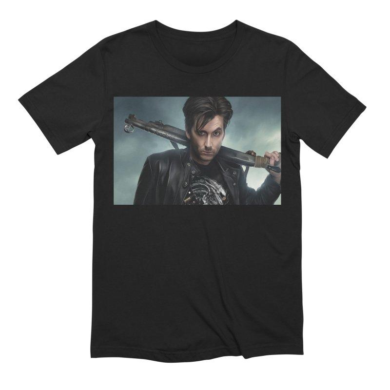 Fright Night (David Tenant) Men's Extra Soft T-Shirt by EvoComicsInc's Artist Shop