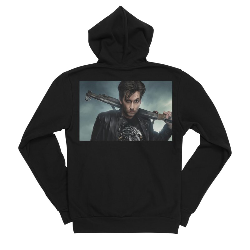 Fright Night (David Tenant) Men's Sponge Fleece Zip-Up Hoody by EvoComicsInc's Artist Shop