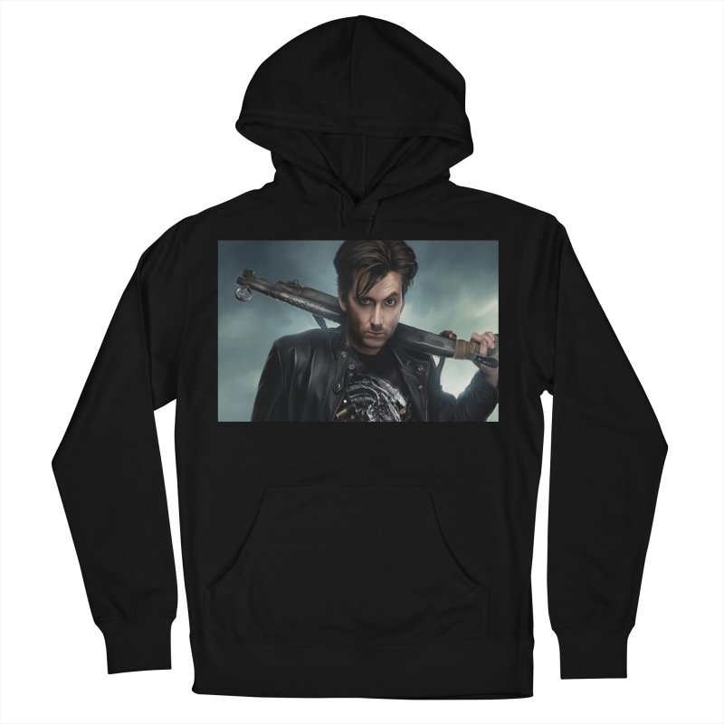Fright Night (David Tenant) Men's French Terry Pullover Hoody by EvoComicsInc's Artist Shop