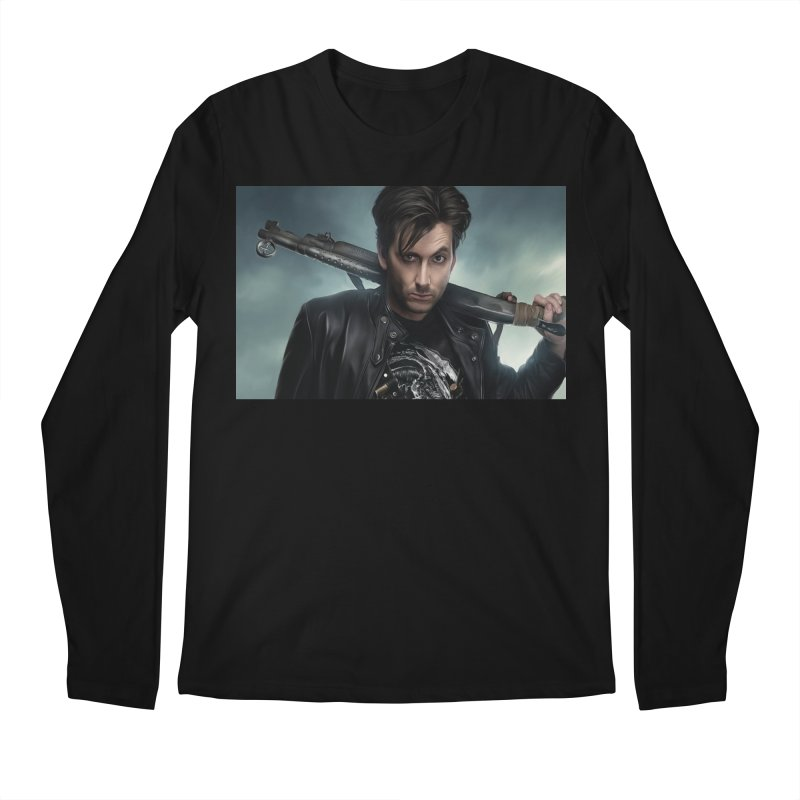Fright Night (David Tenant) Men's Regular Longsleeve T-Shirt by EvoComicsInc's Artist Shop