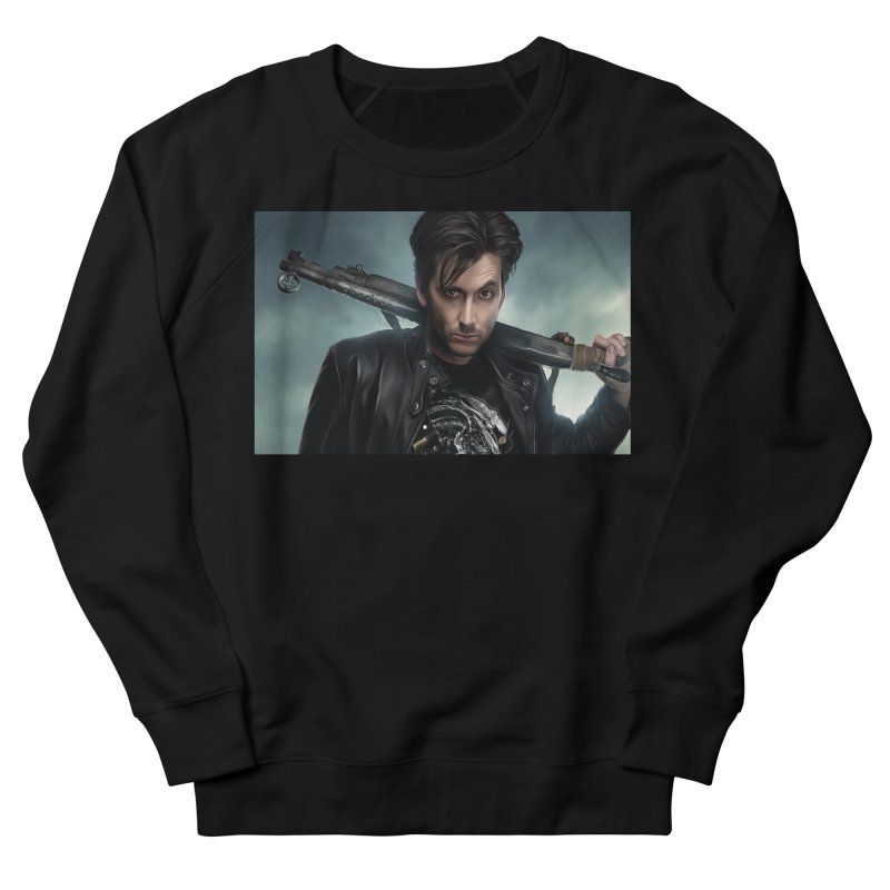 Fright Night (David Tenant) Women's French Terry Sweatshirt by EvoComicsInc's Artist Shop