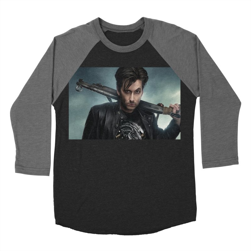 Fright Night (David Tenant) Women's Baseball Triblend Longsleeve T-Shirt by EvoComicsInc's Artist Shop