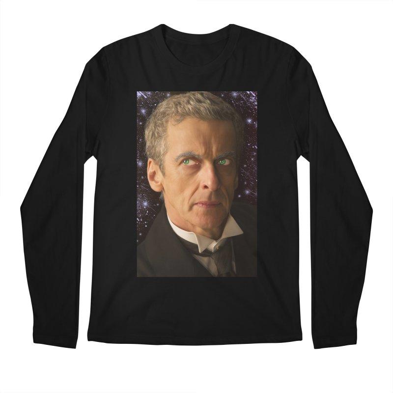 Dr Who 12th Men's Regular Longsleeve T-Shirt by EvoComicsInc's Artist Shop