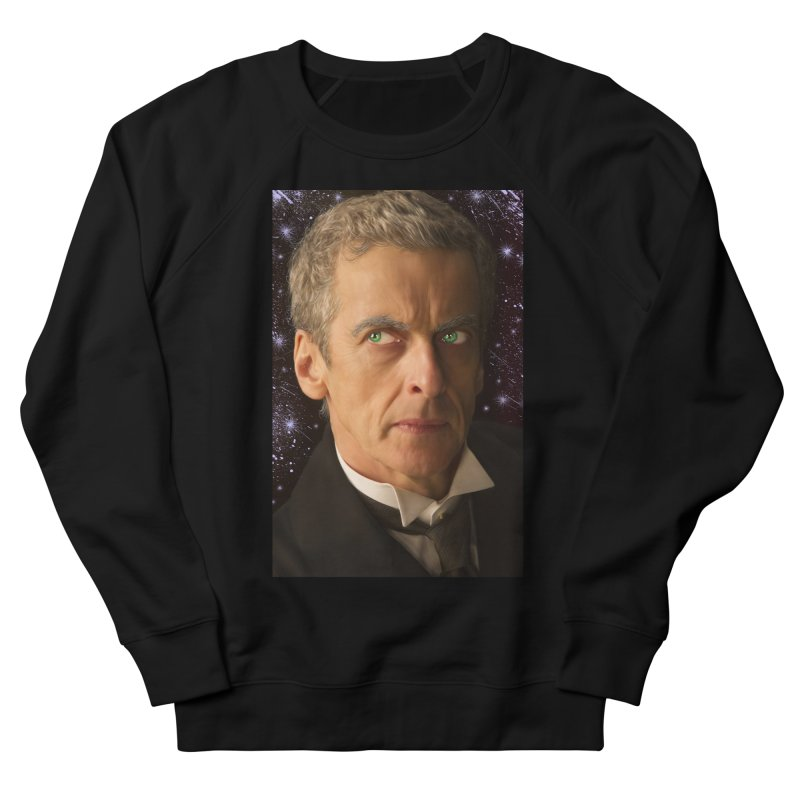 Dr Who 12th Women's French Terry Sweatshirt by EvoComicsInc's Artist Shop