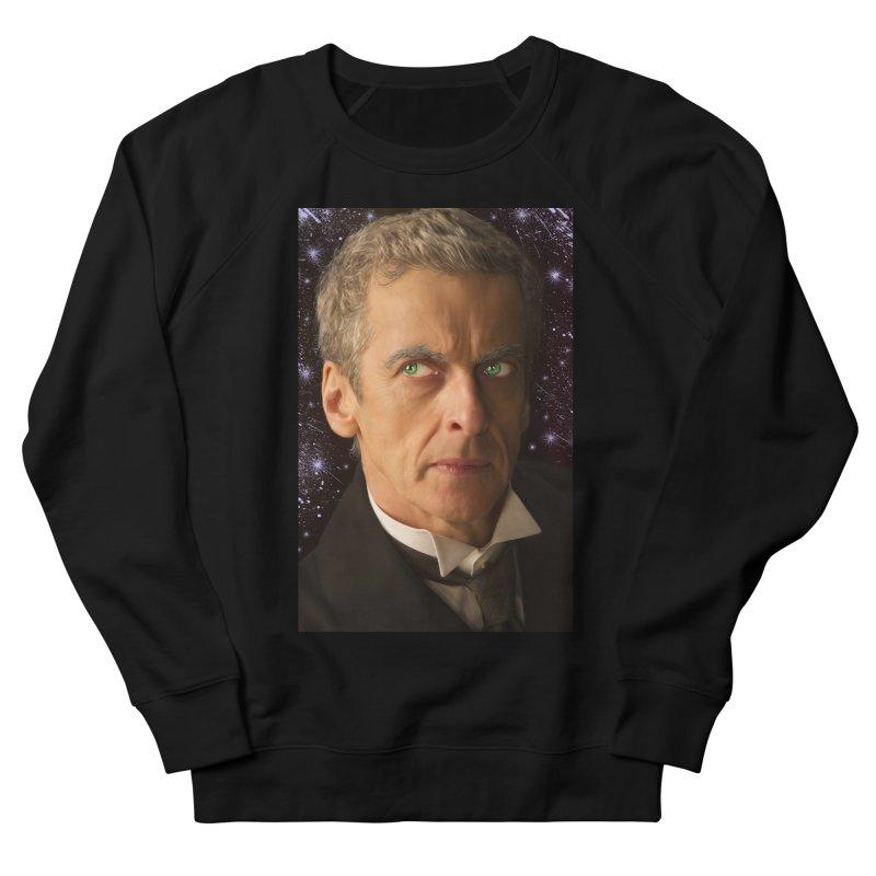 Dr Who 12th Men's French Terry Sweatshirt by EvoComicsInc's Artist Shop