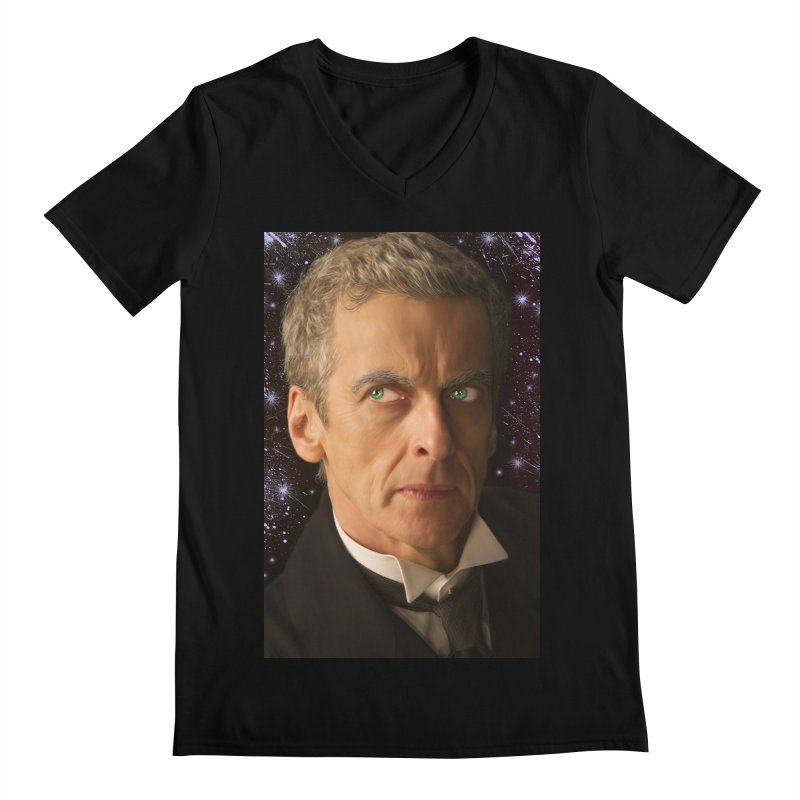 Dr Who 12th Men's Regular V-Neck by EvoComicsInc's Artist Shop