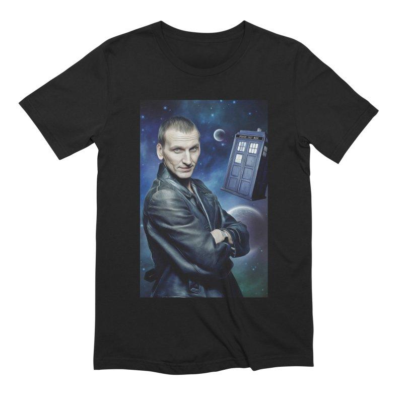 Dr Who 9th Men's Extra Soft T-Shirt by EvoComicsInc's Artist Shop