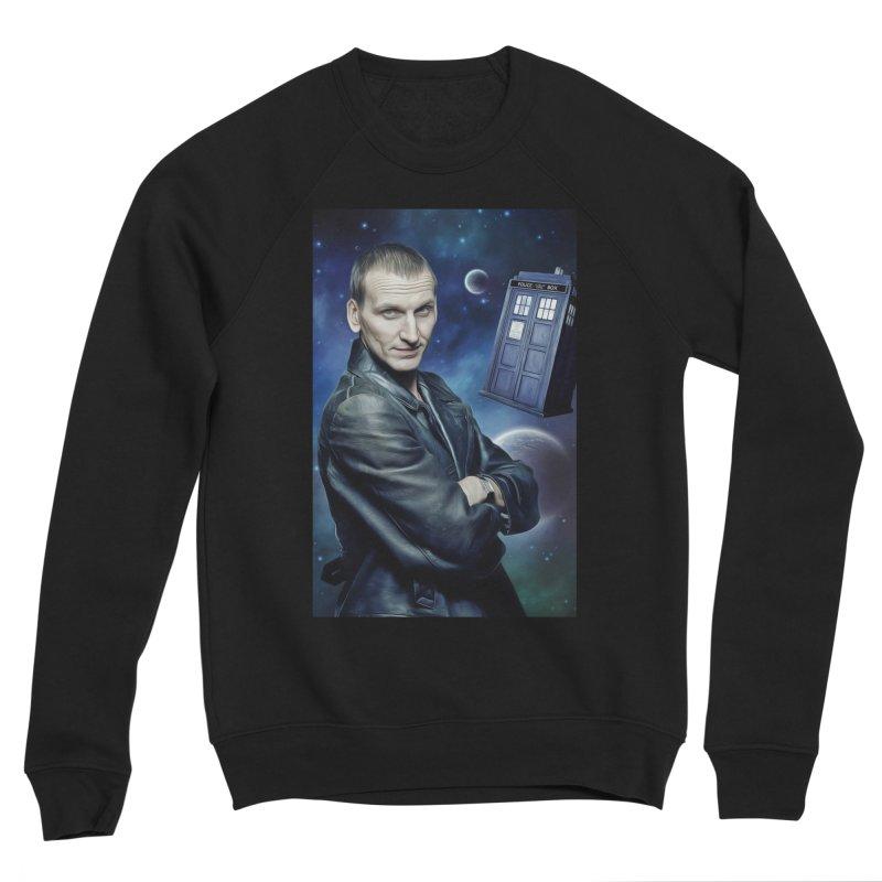 Dr Who 9th Women's Sponge Fleece Sweatshirt by EvoComicsInc's Artist Shop
