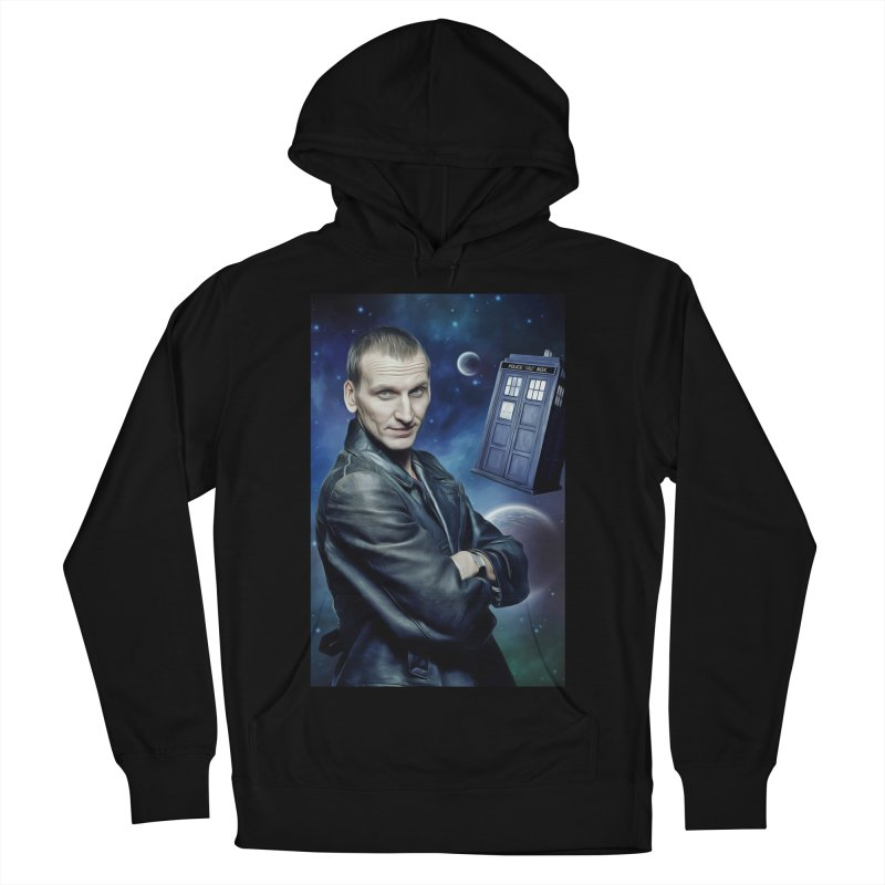 Dr Who 9th Men's French Terry Pullover Hoody by EvoComicsInc's Artist Shop