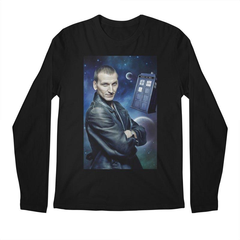 Dr Who 9th Men's Regular Longsleeve T-Shirt by EvoComicsInc's Artist Shop
