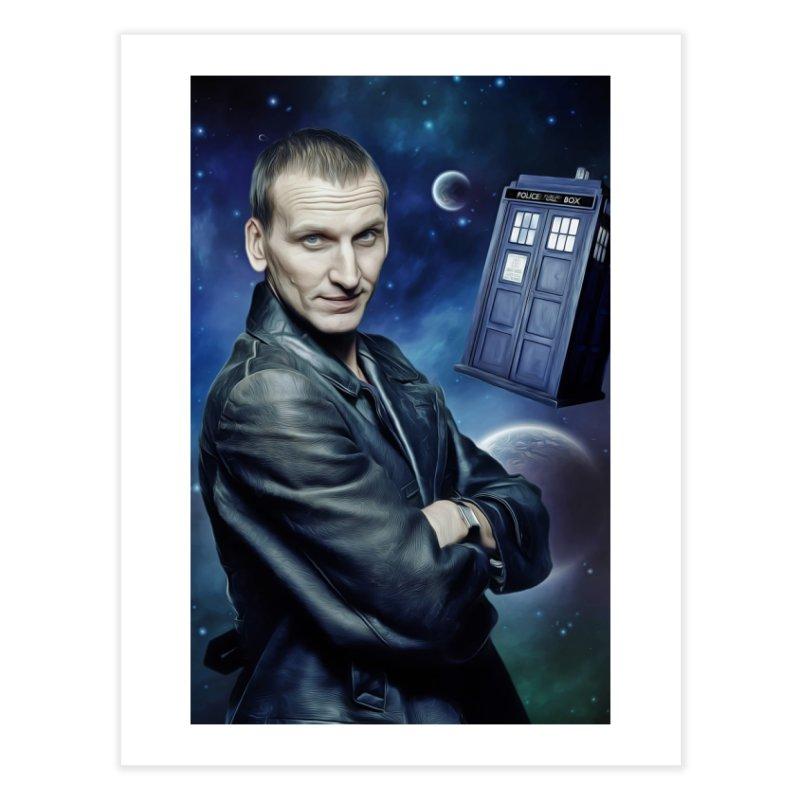Dr Who 9th Home Fine Art Print by EvoComicsInc's Artist Shop