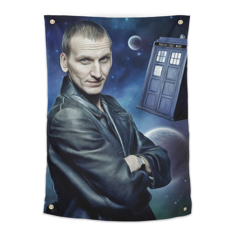 Dr Who 9th Home Tapestry by EvoComicsInc's Artist Shop