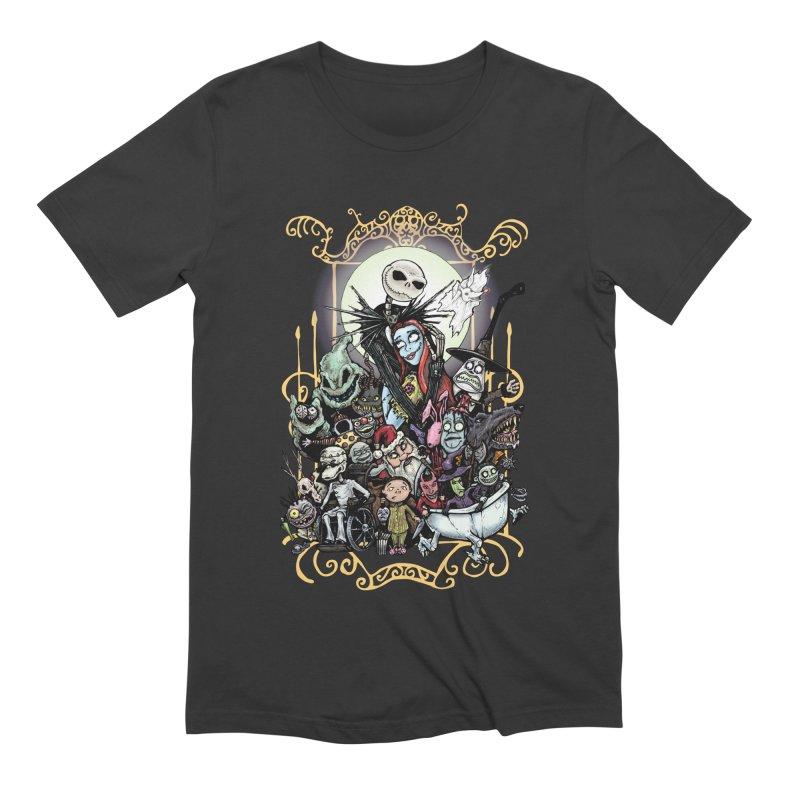 Nightmare Before Christmas Men's Extra Soft T-Shirt by EvoComicsInc's Artist Shop