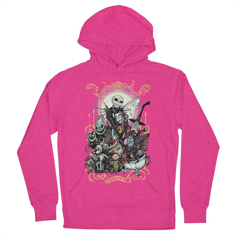 Nightmare Before Christmas Women's French Terry Pullover Hoody by EvoComicsInc's Artist Shop