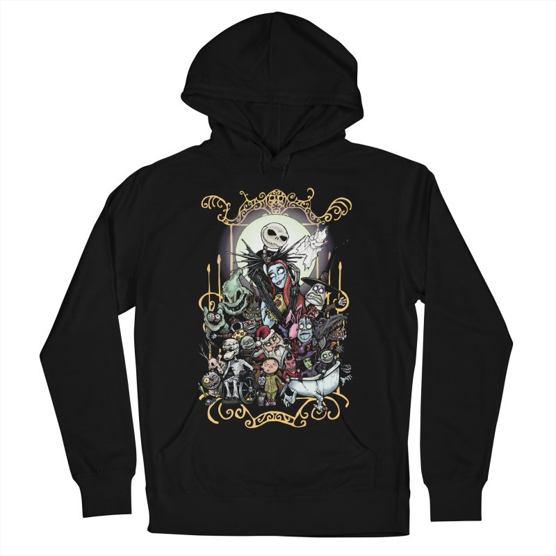 Nightmare Before Christmas Men's French Terry Pullover Hoody by EvoComicsInc's Artist Shop