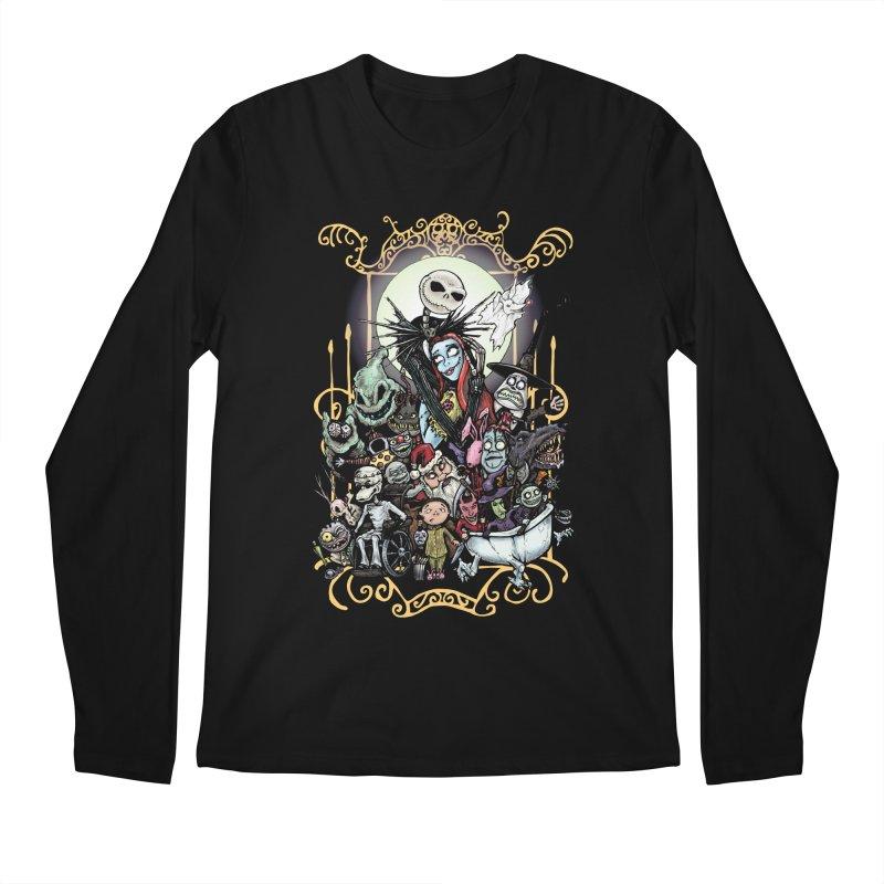 Nightmare Before Christmas Men's Regular Longsleeve T-Shirt by EvoComicsInc's Artist Shop