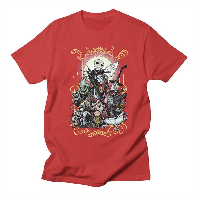 Nightmare Before Christmas Women's Regular Unisex T-Shirt by EvoComicsInc's Artist Shop