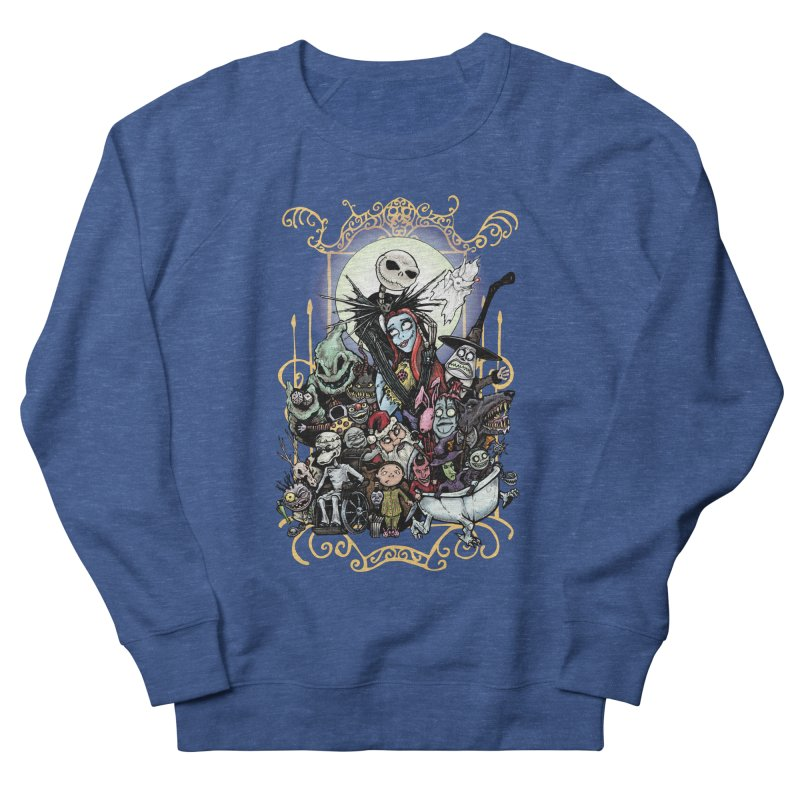 Nightmare Before Christmas Women's French Terry Sweatshirt by EvoComicsInc's Artist Shop