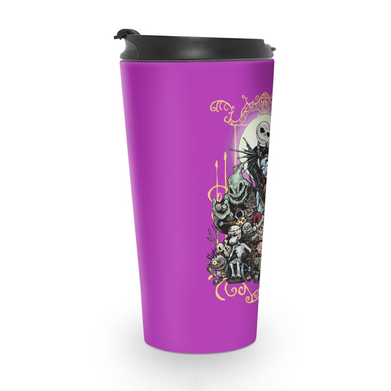 Nightmare Before Christmas Accessories Travel Mug by Evolution Comics INC