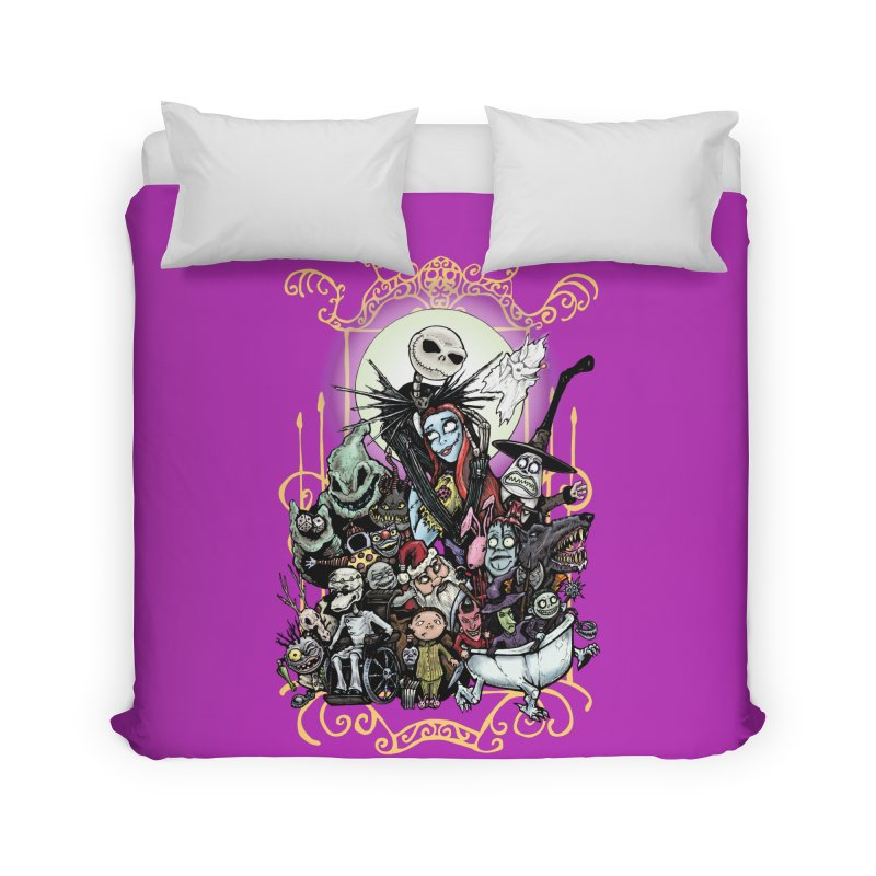 Nightmare Before Christmas Home Duvet by Evolution Comics INC