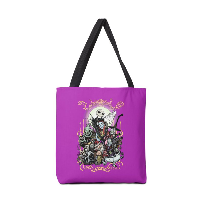 Nightmare Before Christmas Accessories Bag by EvoComicsInc's Artist Shop
