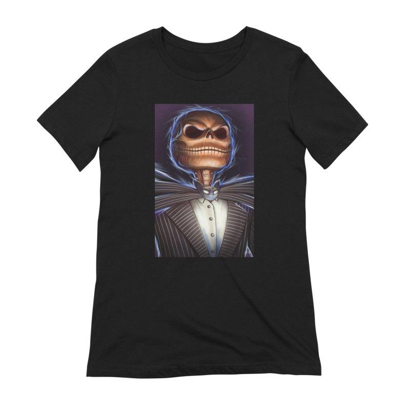 Nightmare Before Christmas - Jack Women's Extra Soft T-Shirt by EvoComicsInc's Artist Shop