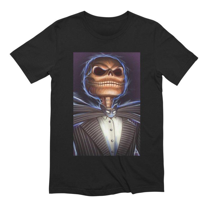 Nightmare Before Christmas - Jack Men's Extra Soft T-Shirt by EvoComicsInc's Artist Shop