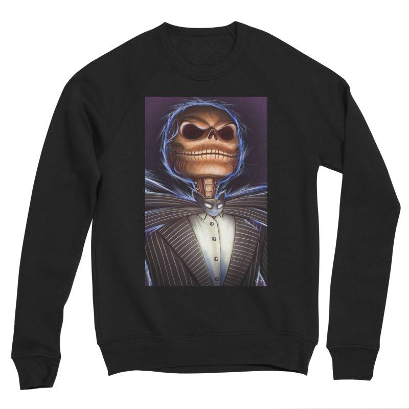 Nightmare Before Christmas - Jack Women's Sponge Fleece Sweatshirt by EvoComicsInc's Artist Shop