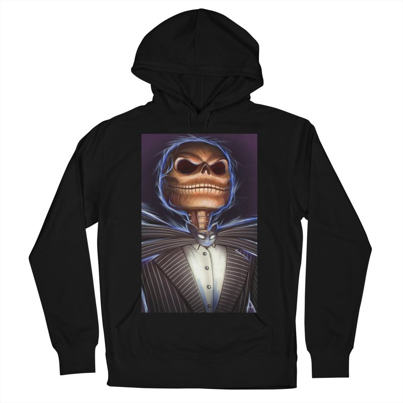 Nightmare Before Christmas - Jack Men's French Terry Pullover Hoody by EvoComicsInc's Artist Shop