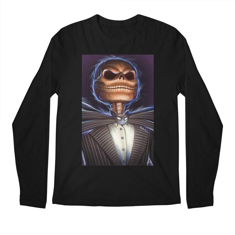 Nightmare Before Christmas - Jack Men's Regular Longsleeve T-Shirt by EvoComicsInc's Artist Shop