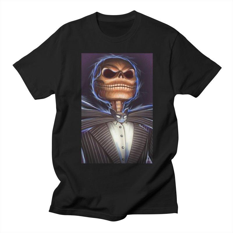 Nightmare Before Christmas - Jack Women's Regular Unisex T-Shirt by EvoComicsInc's Artist Shop