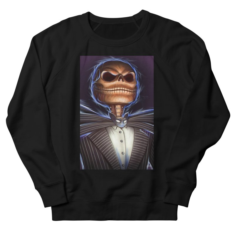 Nightmare Before Christmas - Jack Women's French Terry Sweatshirt by EvoComicsInc's Artist Shop