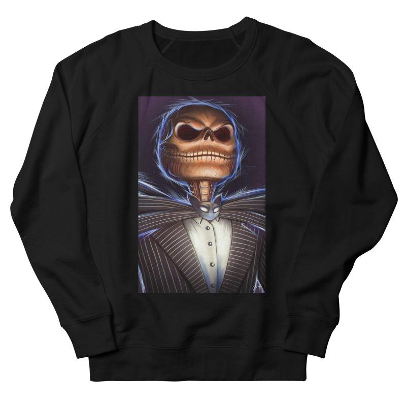 Nightmare Before Christmas - Jack Men's French Terry Sweatshirt by EvoComicsInc's Artist Shop