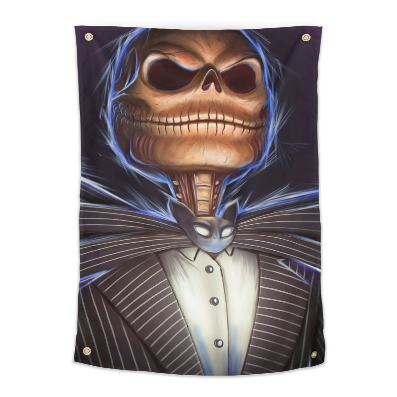 Nightmare Before Christmas - Jack Home Tapestry by EvoComicsInc's Artist Shop