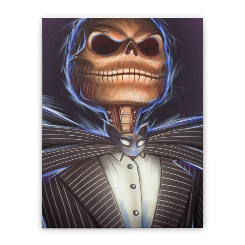 Nightmare Before Christmas - Jack Home Stretched Canvas by EvoComicsInc's Artist Shop