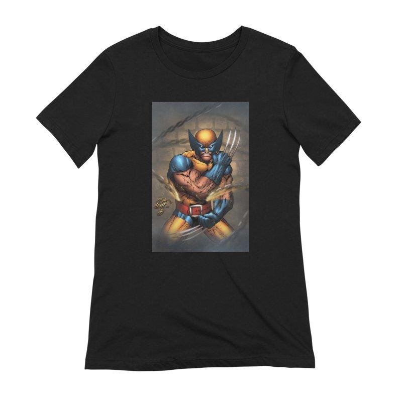 Wolverine Women's Extra Soft T-Shirt by EvoComicsInc's Artist Shop