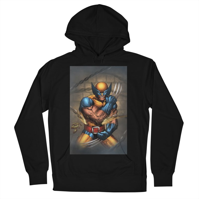 Wolverine Women's French Terry Pullover Hoody by EvoComicsInc's Artist Shop