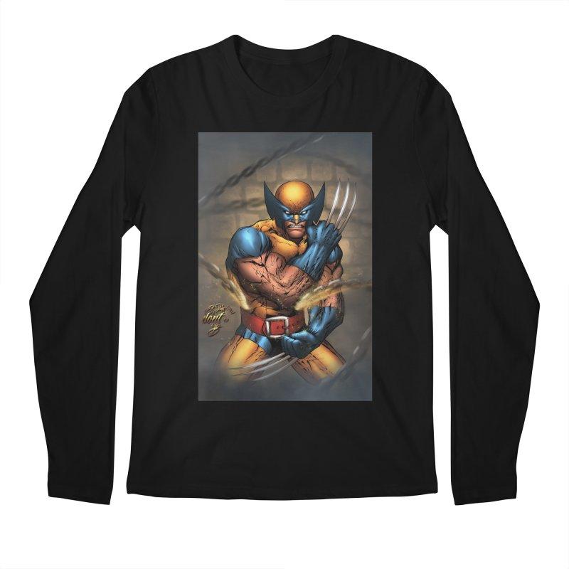 Wolverine Men's Regular Longsleeve T-Shirt by EvoComicsInc's Artist Shop