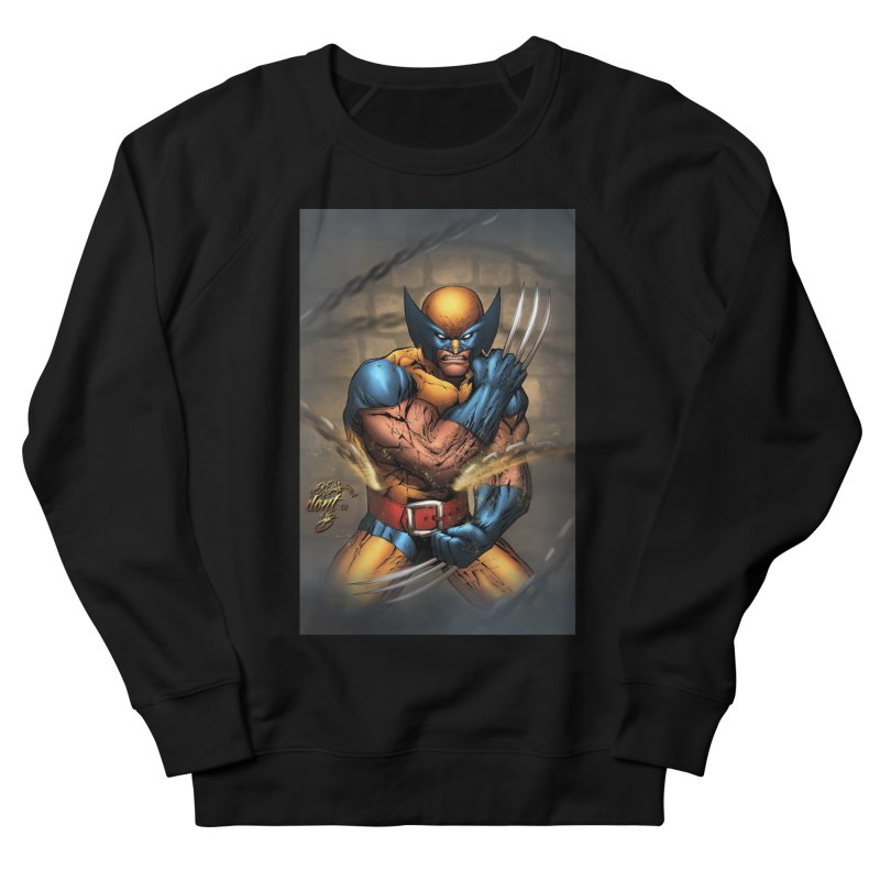 Wolverine Men's French Terry Sweatshirt by EvoComicsInc's Artist Shop