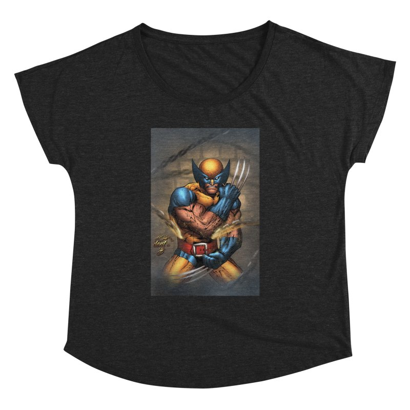 Wolverine Women's Dolman Scoop Neck by Evolution Comics INC