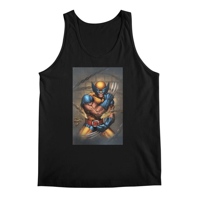 Wolverine Men's Regular Tank by EvoComicsInc's Artist Shop