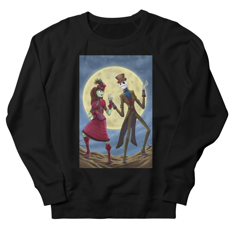 Nightmare Before Christmas (Steam Punk) Women's French Terry Sweatshirt by EvoComicsInc's Artist Shop