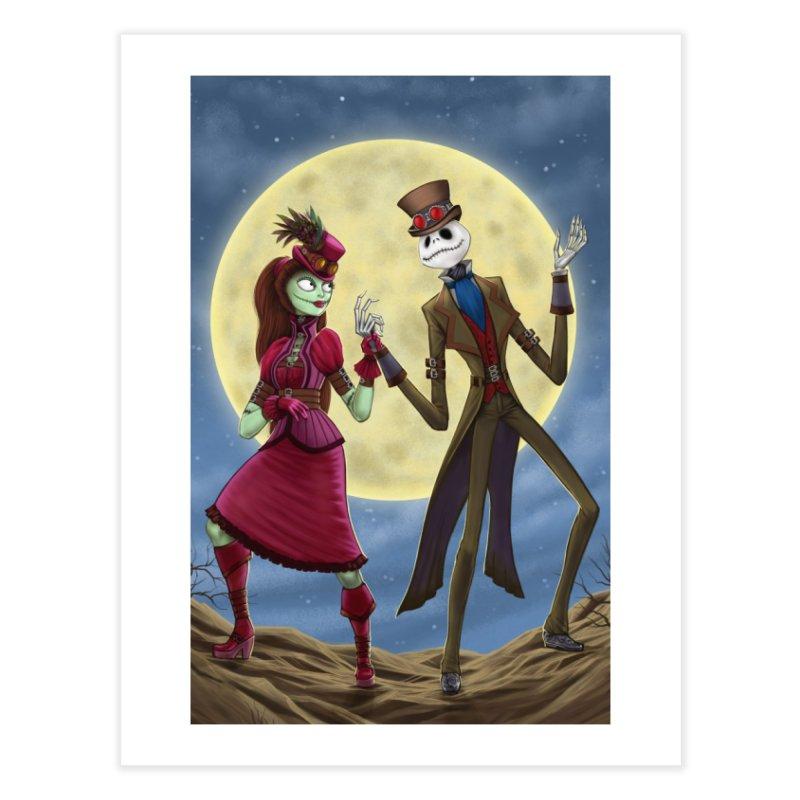 Nightmare Before Christmas (Steam Punk) Home Fine Art Print by EvoComicsInc's Artist Shop