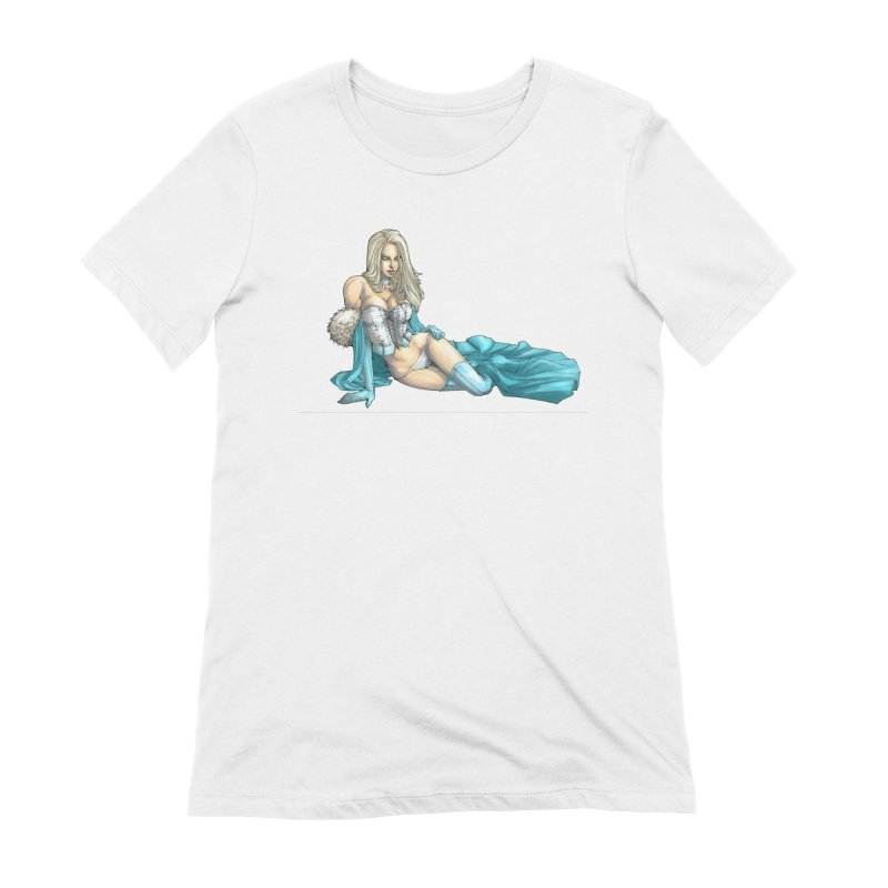 White Queen - Emma Frost Women's Extra Soft T-Shirt by EvoComicsInc's Artist Shop