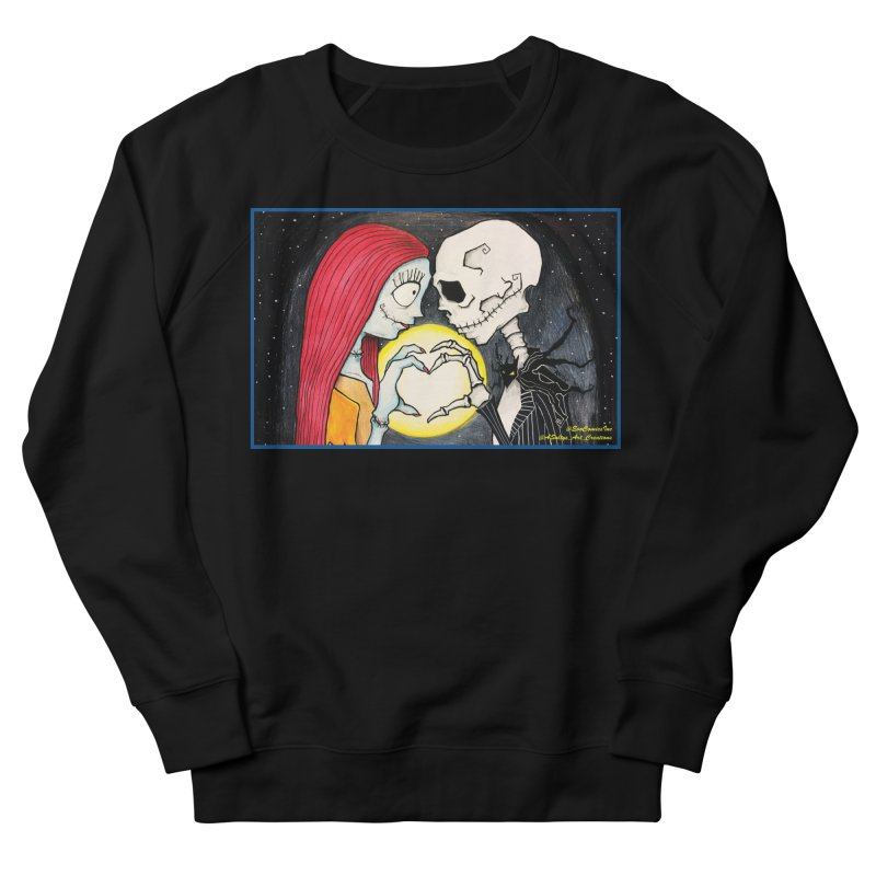 Nightmare Before Christmas - Jack and Sally in Love Men's French Terry Sweatshirt by Evolution Comics INC