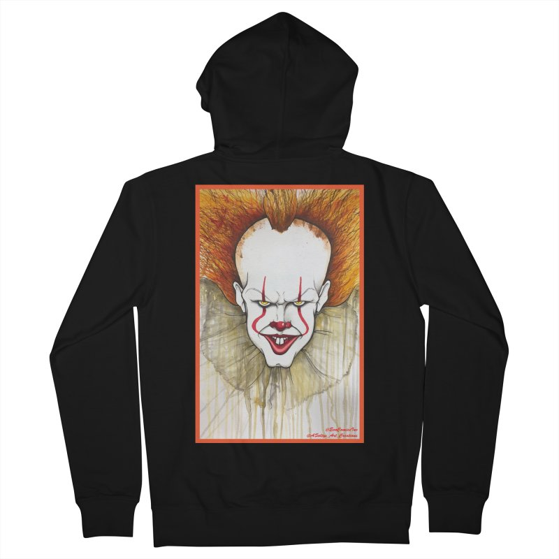 Pennywise 2017 Men's French Terry Zip-Up Hoody by Evolution Comics INC