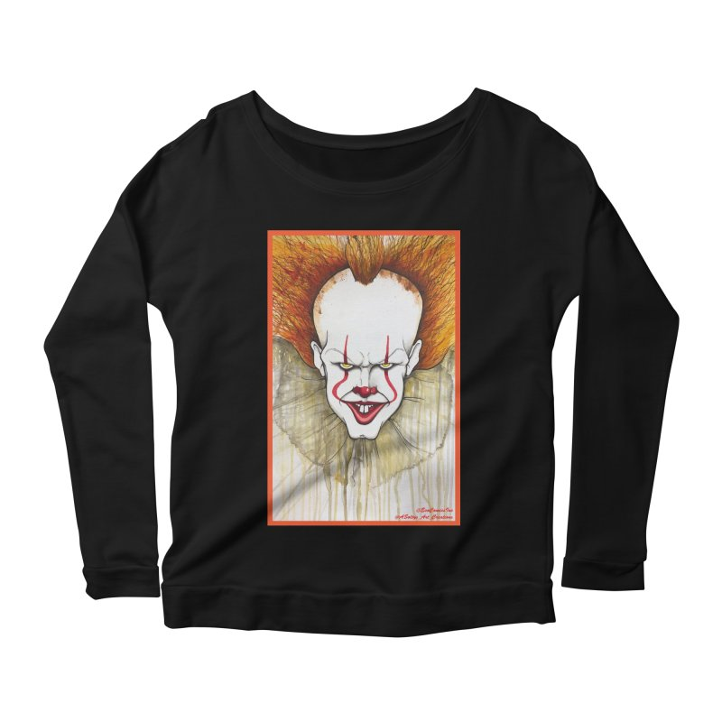 Pennywise 2017 Women's Scoop Neck Longsleeve T-Shirt by Evolution Comics INC